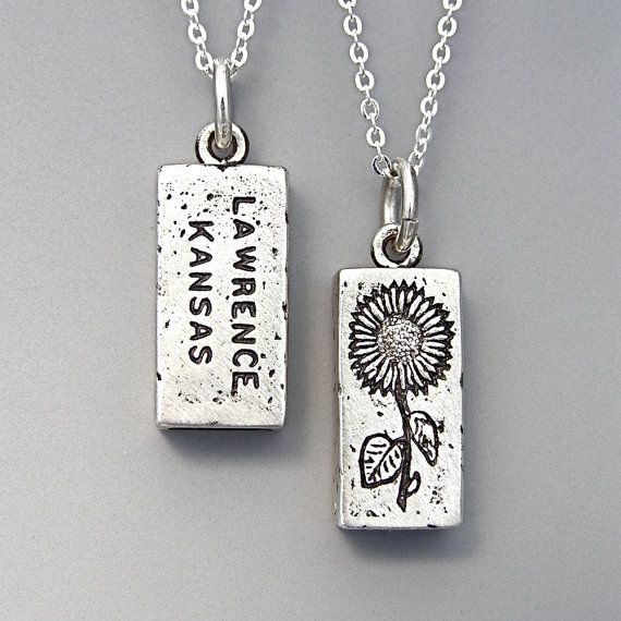 Beloved Lawrence, KS brick pendant. My most favorite gift to give in all the world to my Kansas loves. Sadly I can't give it to everyone, so maybe you can put it on your wishlist this year!