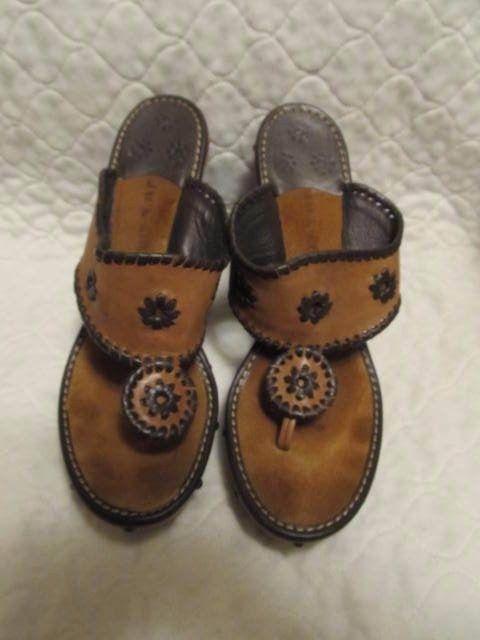 c4ed42baff64 Jack Rogers Marbella SANDALS wood platform leather thong embellished Women s  9.5  fashion  clothing  shoes  accessories  womensshoes  sandals (ebay link)
