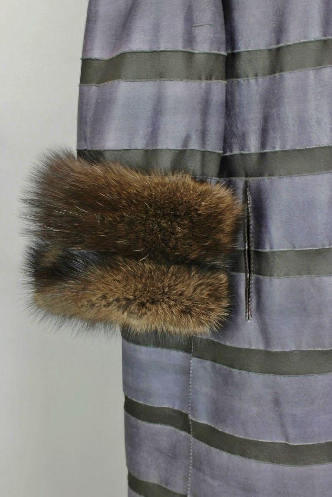 ELLIKER Reversible hand painted Fisher coat
