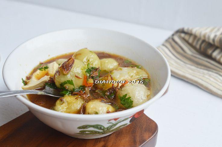 Diah Didi's Kitchen: Bakso Aci Khas Garut