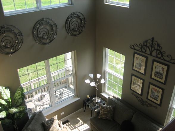 2 story window living rooms | Two-Story Living Room, Our Two-Story Living Room is right off the main ...