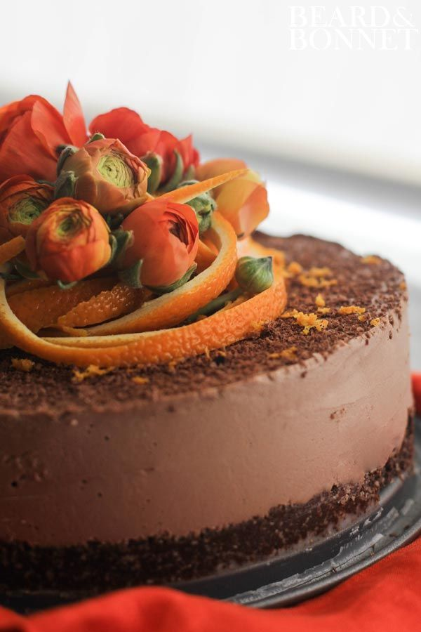 Raw Chocolate-Orange Torte From The Blender Girl Cookbook  A Giveaway #glutenfree #vegan #raw
