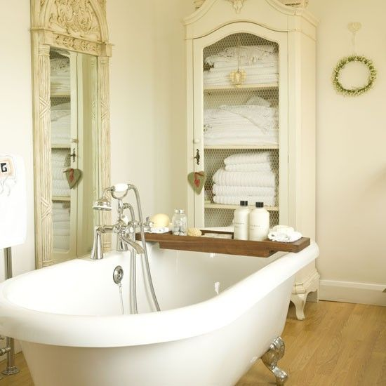 51 best french style images on pinterest room home and for French chic bathroom designs