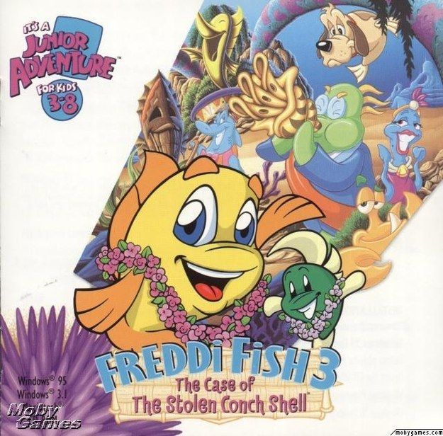 Freddi Fish was one of your BFFs. | 10 Educational Computer Games '90s Kids Will Remember