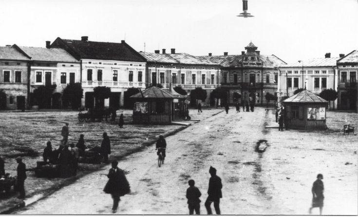 Mielec Rynek - Market Place - 1920.