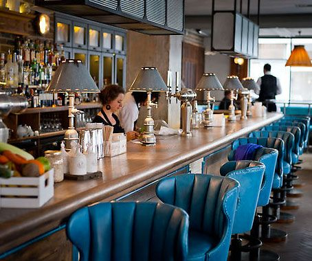 The Riding House Cafe, in Fitzrovia is Adam White and Clive Watson's 3rd addition to their growing stable of London brasseries. White, a New Zealander, is a product designer but turned his hand to the restaurant industry a decade ago