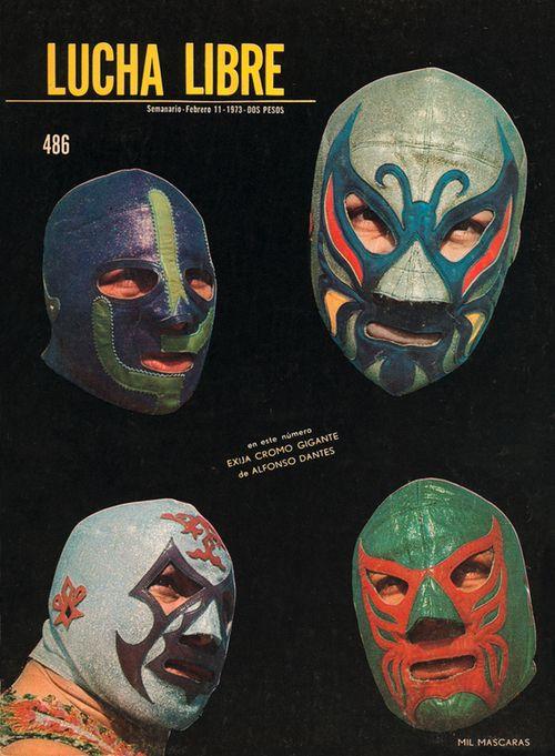 Mil Mascaras, Lucha Libre Magazine #486