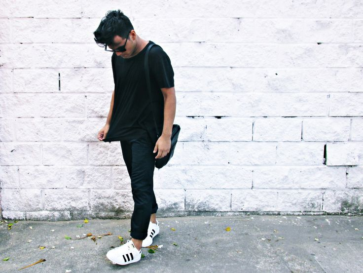 Adidas Superstar Black Man