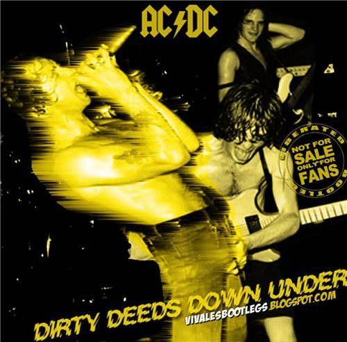 AC/DC – Dirty Deeds Down Under – Brisbane (bootleg) (1976) [MP3]