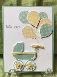 Stamp with Anna: Stampin Up, Something for Baby