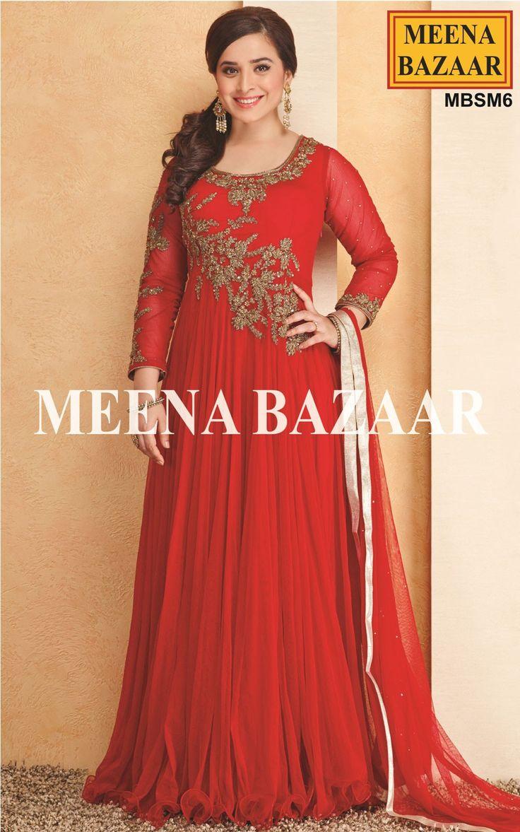 Red Net Gown - Ek Hasina Thi (Simone Singh)
