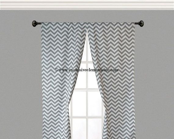 Curtains Ideas chevron curtains grey : Chevron Curtains Gray - Curtains Design Gallery
