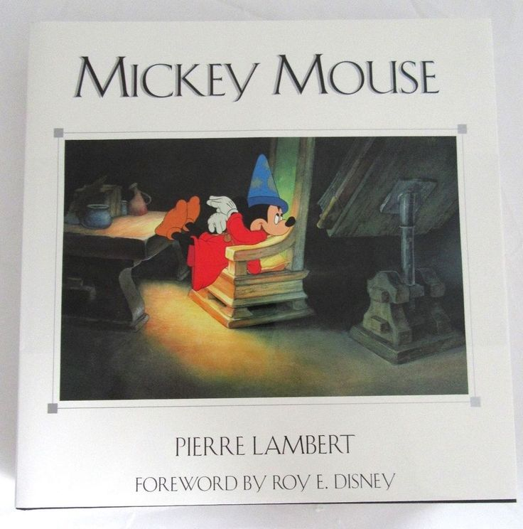 Mickey Mouse - Pierre Lambert 1998 Disney Art Book Signed By ROY DISNEY- Rare  | eBay