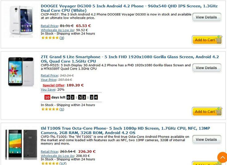 Compania Chinavasion oferă o gamă extrem de largă de produse din această categorie: telefoane mobile ieftine, smarphone android cu ecrane de... http://camere-spion.info/auto/?page_id=49