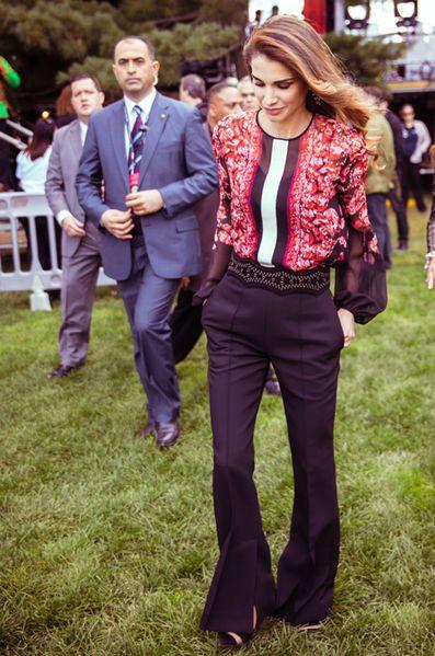 Royal Style – Rania de Jordanie - Une vraie reine de beauté à New York en six looks