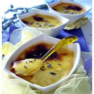 Crème Brûlée alla Lavanda