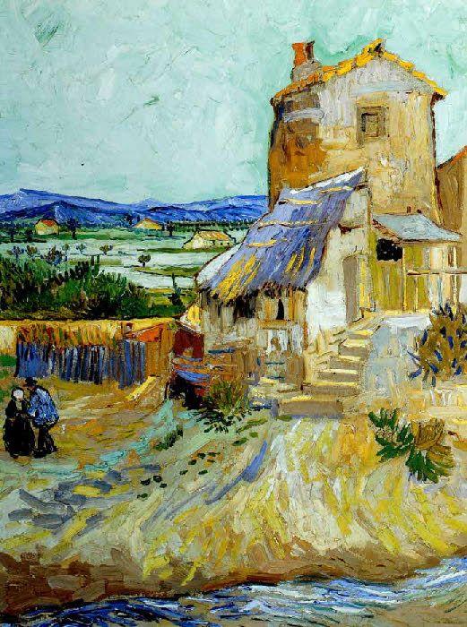 Vincent Van Gogh - Post Impressionism - Arles - Le vieux Moulin