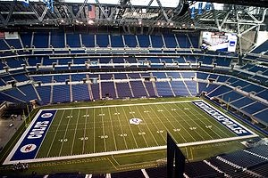 Lucas Oil Stadium home to the Colts