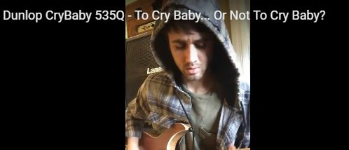 To Cry Baby... Or Not To Cry Baby? Check out my review on what I have to say about the best wah wah pedal in the universe! In my own personal experience with the 535Q wah wah pedal, I never had to use another one, let alone seek out for one. So find out whi I think the cry baby 535Q is the best pedal to choose! Ever wonder how you can achieve that classic wah sound, Check out my review on one of the most classic pieces of equipment you will ever need in your guitar arsenal…