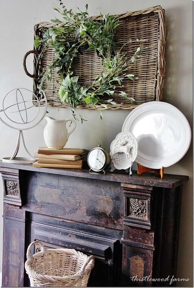 How To Decorate A Mantel 297 best decorate your mantle & fireplace! images on pinterest