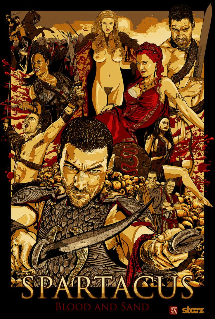 Spartacus: Blood And Sand by wild7even.deviantart.com on @deviantART