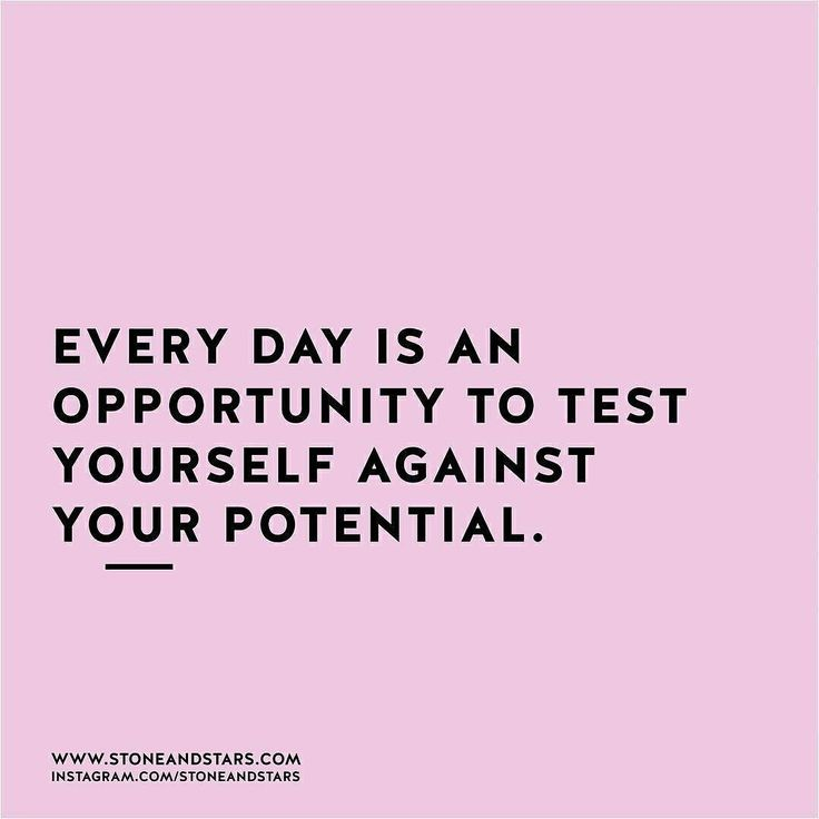 """#motivation #inspiration """"Every day is an opportunity to test yourself against your potential."""" via @topupyourtrip"""