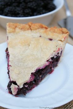 best ever blackberry pie - I'm trying this for Thanksgiving for the family.