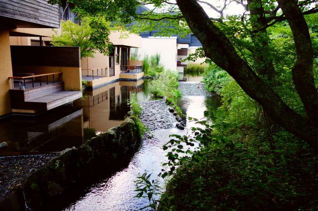星のや軽井沢 施設内の写真 ブログ