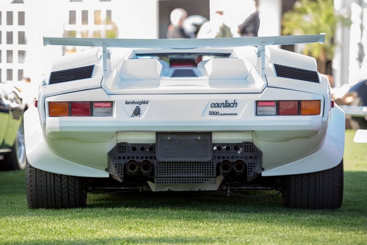 Lamborghini Countach 5000 Qv Rear End 5791x3866 Hd