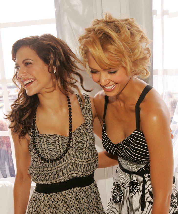 Pin for Later: 53 Cannes Film Festival Photos That Will Take You Way, Way Back  Jessica Alba shared a laugh with the late Brittany Murphy at a luncheon during the festival in 2005.