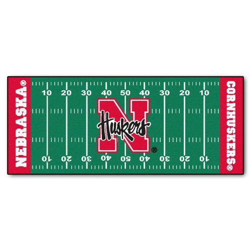 Nebraska Cornhuskers Blackshirts Football Field Runner Rug: 44 Best Images About Nebraska On Pinterest