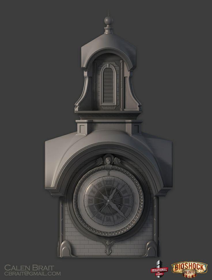 [Portfolio] Calen Brait - Lead Modeler Bioshock Infinite - Polycount Forum