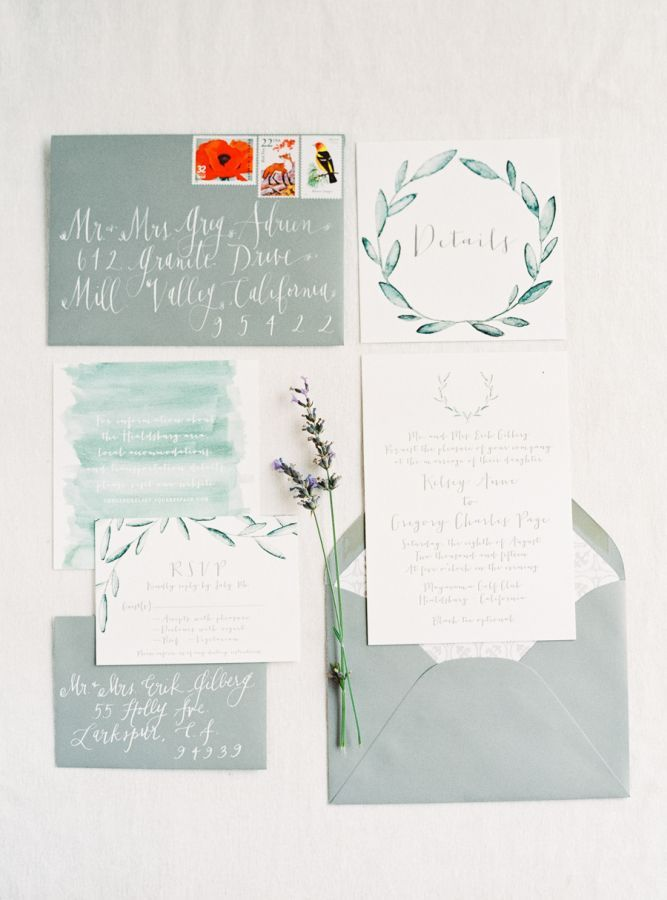 Tuscan-inspired invitation suite: http://www.stylemepretty.com/2016/06/06/a-sonoma-wedding-inspired-by-old-world-tuscany/   Photography: Michele Beckwith - http://michelebeckwith.com/