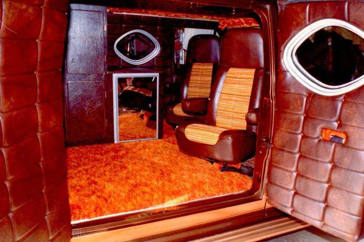 Custom Van interior. | 1970s Van Interiors... | Custom van ...