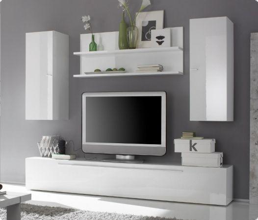 Wohnwand modern weiß hochglanz  Die besten 10+ Wohnwand weiss Ideen auf Pinterest | Wohnzimmer ...