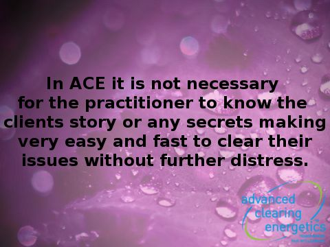 Choose to live healthy and free from pain or illness. Find out more about Advanced Clearing Energetics www.advancedclearingenergetics.com