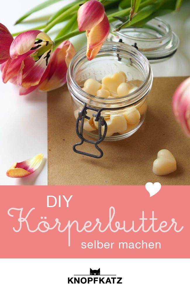 DIY: Herzige Lotion Bars mit natürlichen Zutaten selber machen.