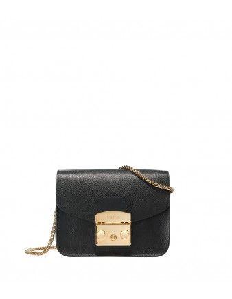 small Paiper Safiano bag - Black Furla lML8NxDTa