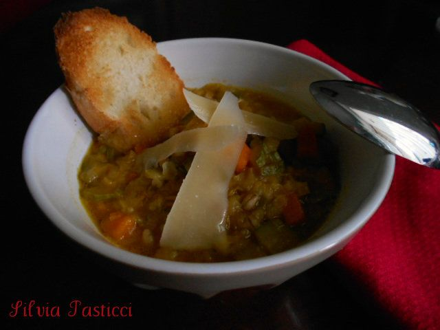 Zuppa di cereali. Comfort food.