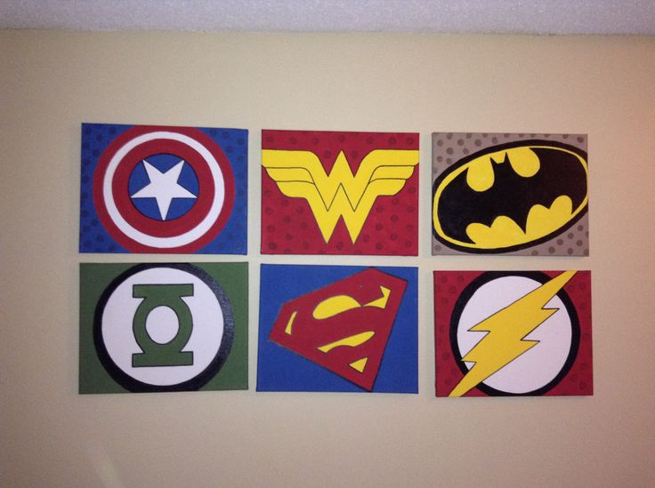 Avengers Wall Art Wall Projects Pinterest Other The