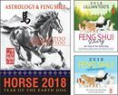 2018 Horse Book Bundle Now Available for Pre-Orders! Save $11.60!  The Horse in 2018 enjoys the luck of the Peach Blossom. Everyone loves you this year because the feng shui winds blow warm energies of love your way. It is a good idea to strengthen your Peach Blossom Luck and take strong measures to galvanize your life force. This expands your knowledge and broadens your wisdom energies, helping you achieve peak performance at work this year. The Horse recovers from last year's wu wang…