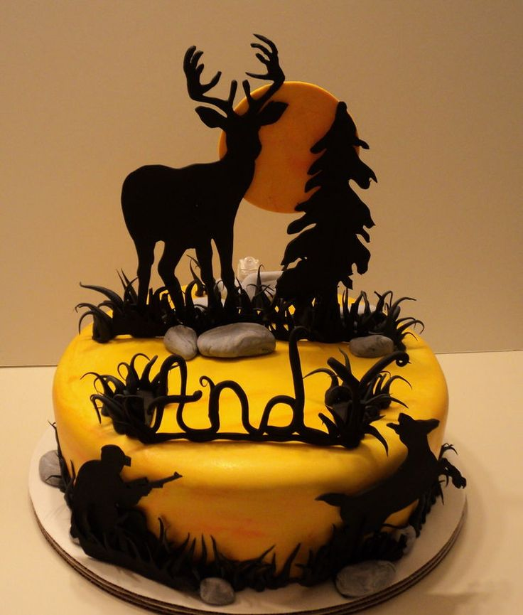 193 best images about Cakes - Hunting on Pinterest   Deer ...