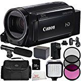 Canon VIXIA HF R700 Full HD Camcorder (Black) 9PC Accessory Bundle (Certified Refurbished) – Includes 32GB SD Memory Card + 3PC Filter Kit (UV + CPL + FLD) + MORE  by Centre Drone  Date first available at Amazon.ca: Oct. 4 2017   (Visit the Hot New Releases in Camcorders list for authoritative information on this product's current rank.) Amazon.ca: Hot New Releases in Electronics > Camera, Photo & Video > Video > Camcorders