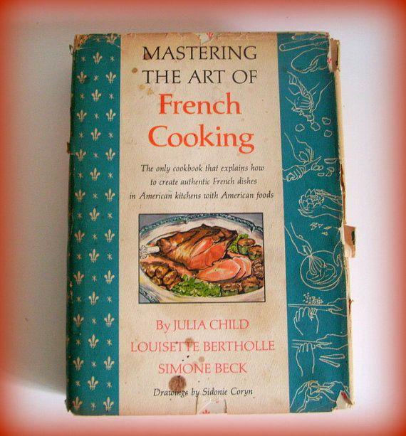 Vintage Cookbook Julia Child Mastering the by merrilyverilyvintage