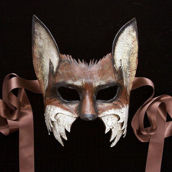 A half mask of Vulpus, the fox. $175