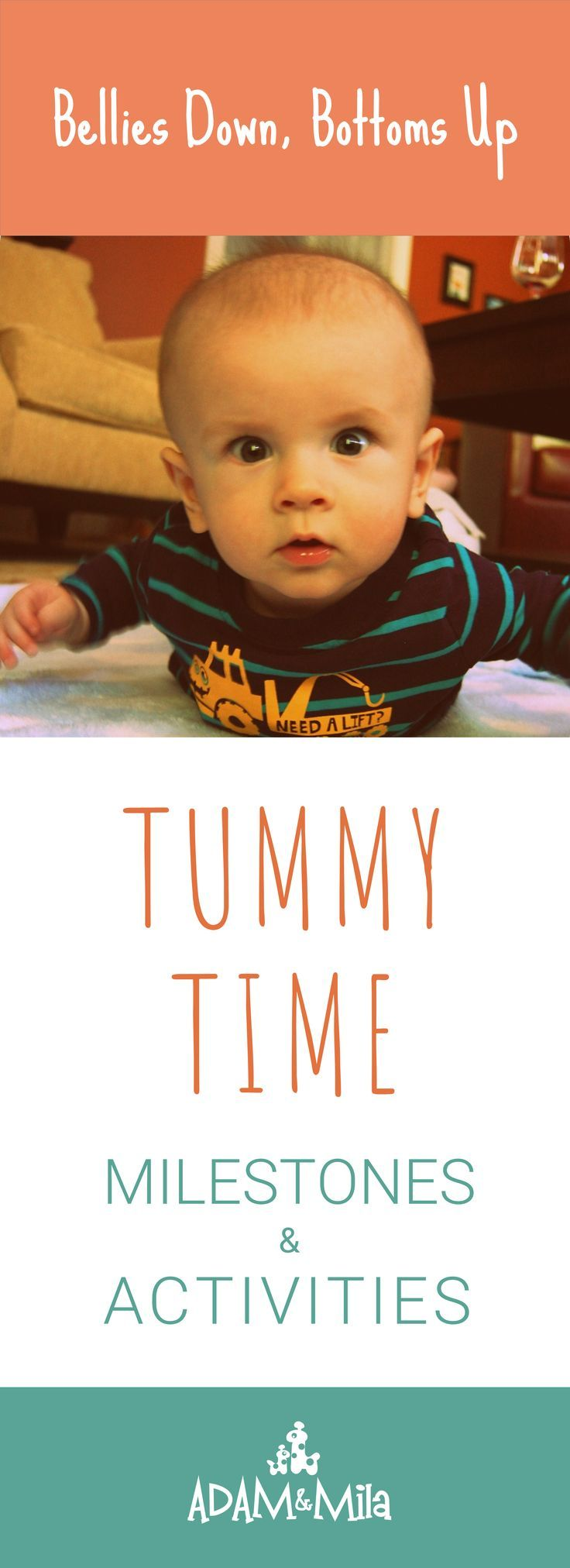 Tummy Time Activities for Infants Fun play