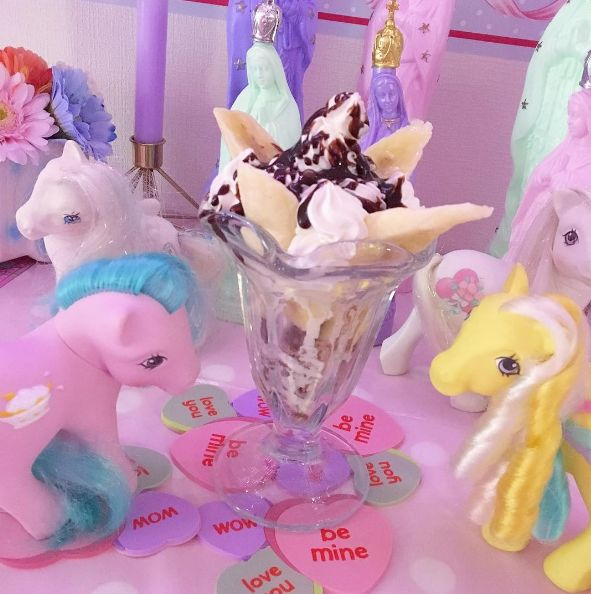 G1 My Little Ponies & Kawaii Food! www.CuteVintageToys.com 💖 Hundreds Of  Vintage Toys From The 80s & 90s! Follow Me & Use The Coupon Code PINTEREST For 10% Off Your ENTIRE Order! 💌 Dozens of G1 My Little Ponies, Polly Pockets, Popples, Strawberry Shortcake, Care Bears, Rainbow Brite, Moondreamers, Keypers, Disney, Fisher Price, MOTU, She-Ra Cabbage Patch Kids, Dolls, Blues Clus, Barney, Teletubbies, ET, Barbie, Sanrio, Muppets, Sesame Street, & Fairy Kei Cuteness!💖