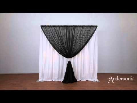Wedding Canopy - Georgia Expo Pipe and Drape: Creating a Wedding Canopy Using Pipe and Drape - YouTube