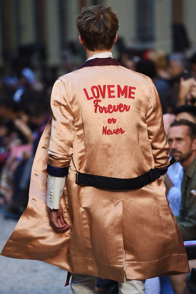 Whore for Couture — Louis Vuitton Menswear Spring 2016