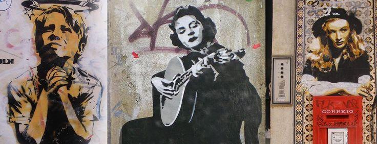 Arte na rua.
